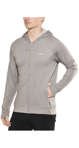 Craghoppers NosiLife Avila II Hooded Jacket Men Quarry Grey Marl